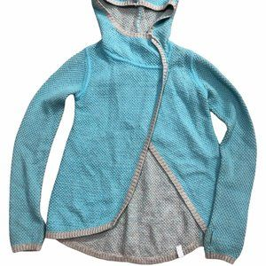 Ivivva by Lululemon Asymmetrical Hoodie Size 7